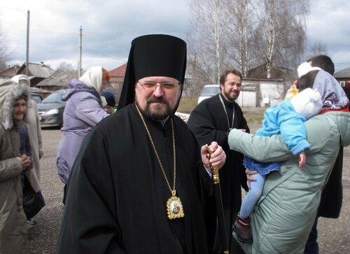 2017. Епископ Алексий. Светлая Суббота. г.Солигалич.