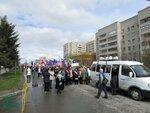 Первомайской демонстрацией в Бердске был открыт праздник Весны и Труда