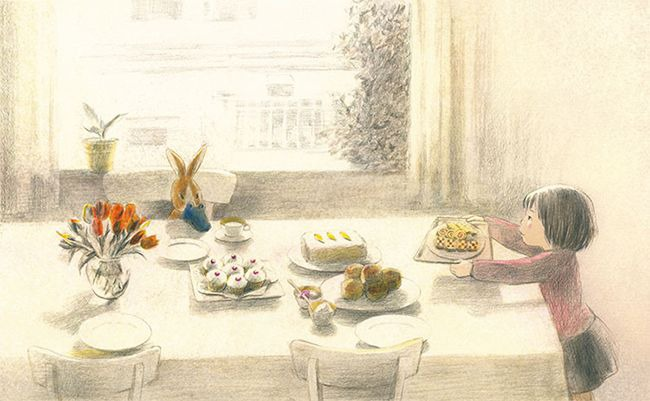 Рисунки Chiaki Okada и Ko Okada