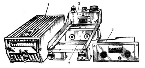 Комплект радиостанции. Рис. 1.