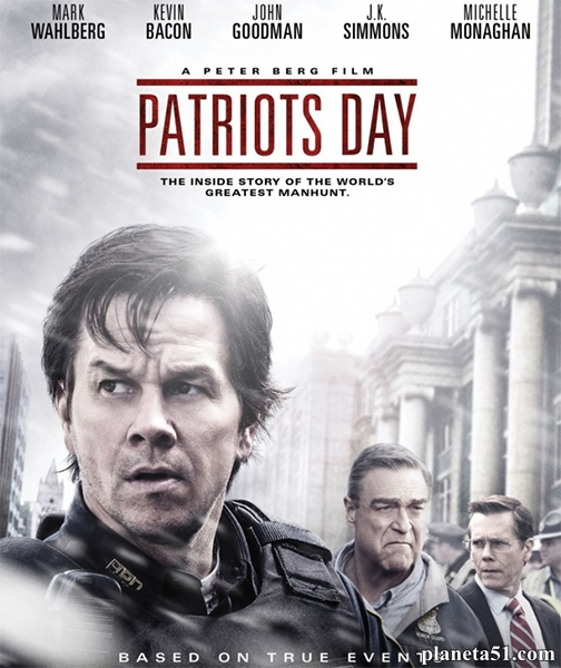 День патриота / Patriots Day (2016/DVDScr)