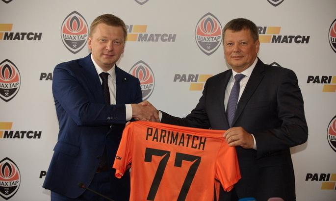Parimatch поддержит Шахтер вновом сезоне