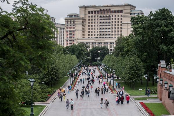 Порядка 130 парков в столице будут благоустроены ко Дню города