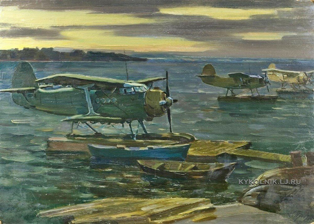 Прохоров Константин Александрович (1924) «Гидропланы» (1970)