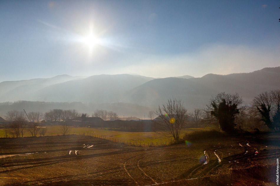10. В горах появляются первые намеки на снег.