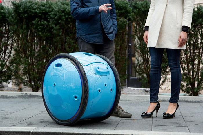 Самоходный робот от Greg Lynn.