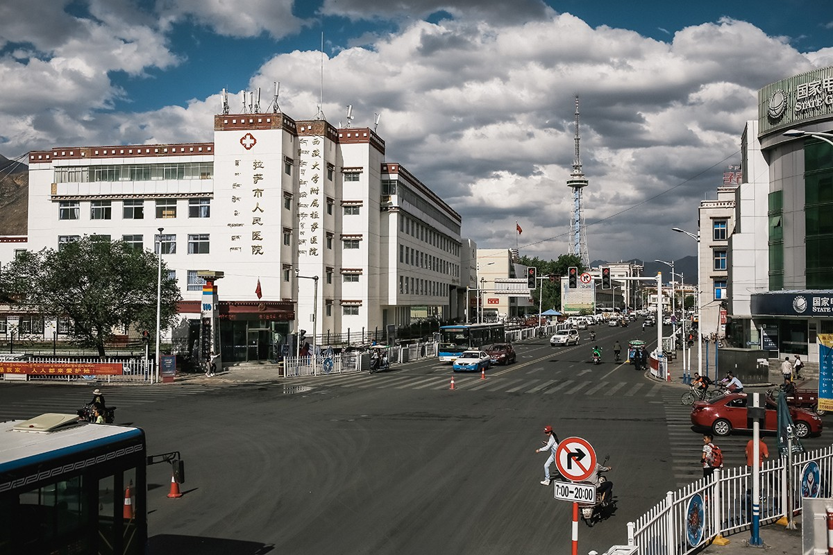 1. Сегодня Лхаса — вполне современный город с развитой инфраструктурой и коммуникациями.