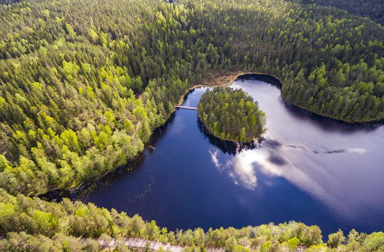 Финны в равной степени любят первозданную дичь и хайтек, прогресс и посконную природную дремучесть.