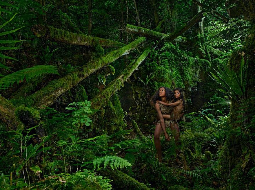 Камала и Амала (Индия, 1920 год) Восьмилетняя Камала и двенадцатилетняя Амала были найдены в 1920 го
