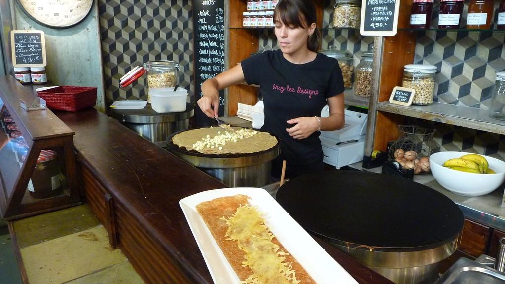 13. Научиться готовить блюда каталонской кухни, например в главной кулинарной школе рынка Бокерия вм