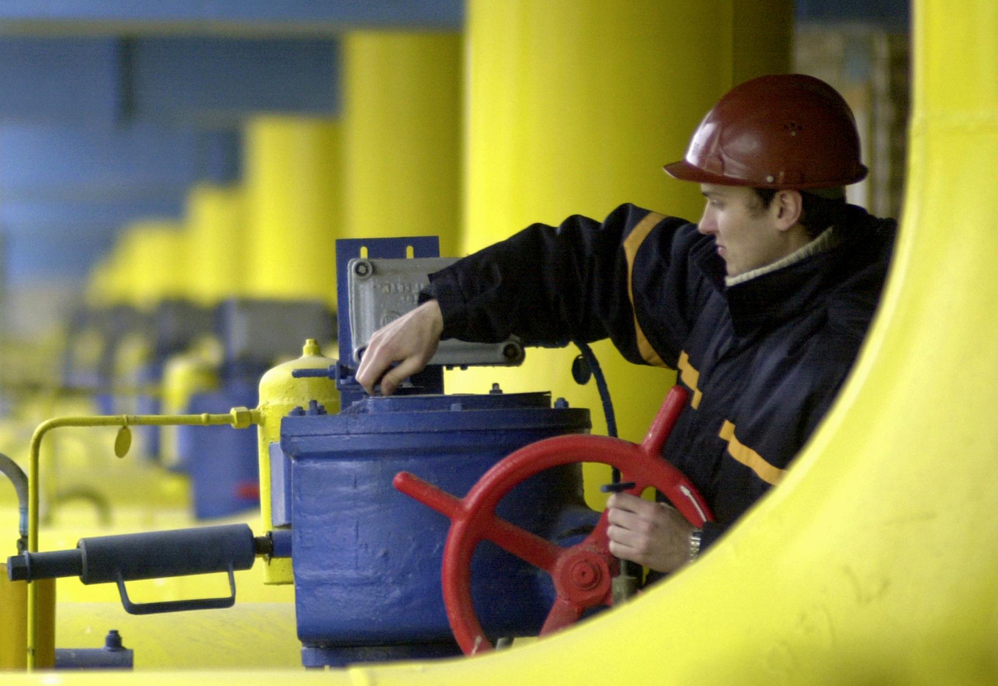 Засутки изподземных хранилищ государства Украины отобрала 46,90 млн кубов газа
