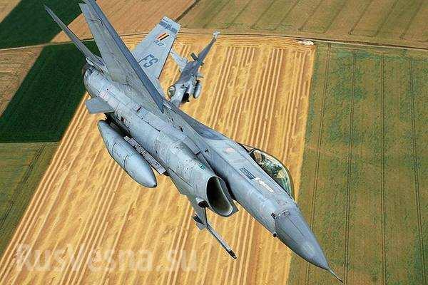 ВВС Бельгии остановили полеты вСирии