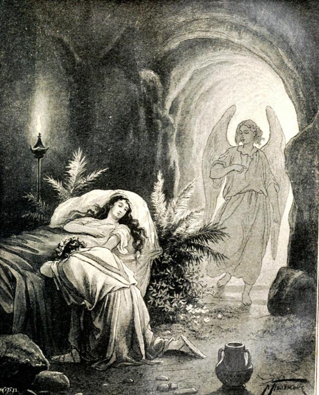 Художник В.А.Поляков. Ангел смерти