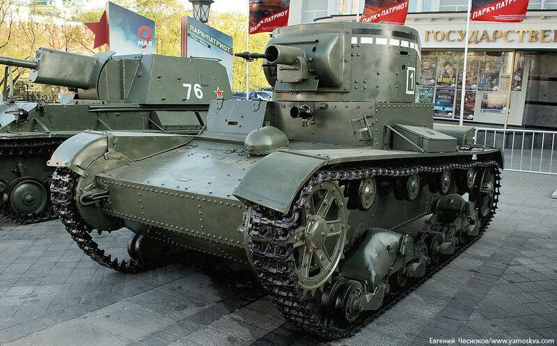 40. Манеж. 08.05.15.Огнеметный танк ОТ-130..jpg
