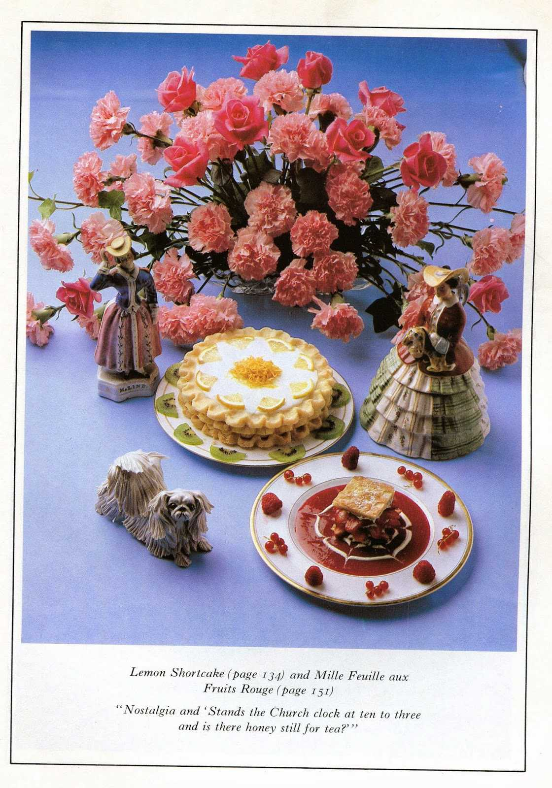 Romance of Food - The kitsch of the cookbooks from the 80s