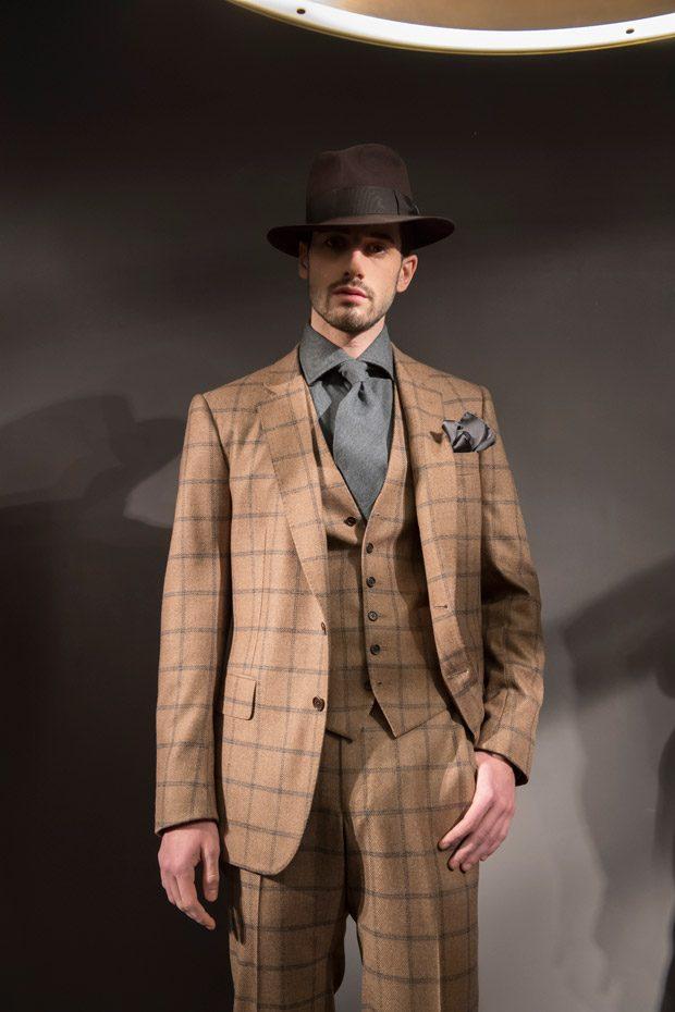 #MFW Cifonelli Fall Winter 2017.18 Menswear Collection