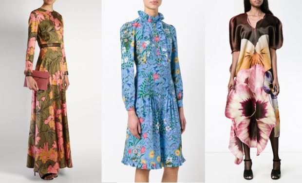DESIGN SCENE TOP 10: Spring Summer 2017 Floral Dresses