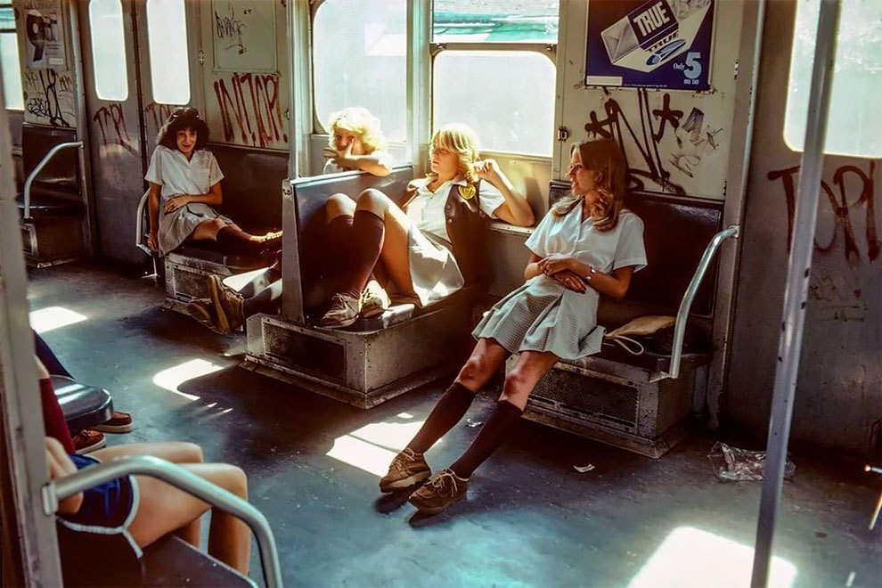 Dazzling Photographs of New York Subway on the 80's (11 pics)