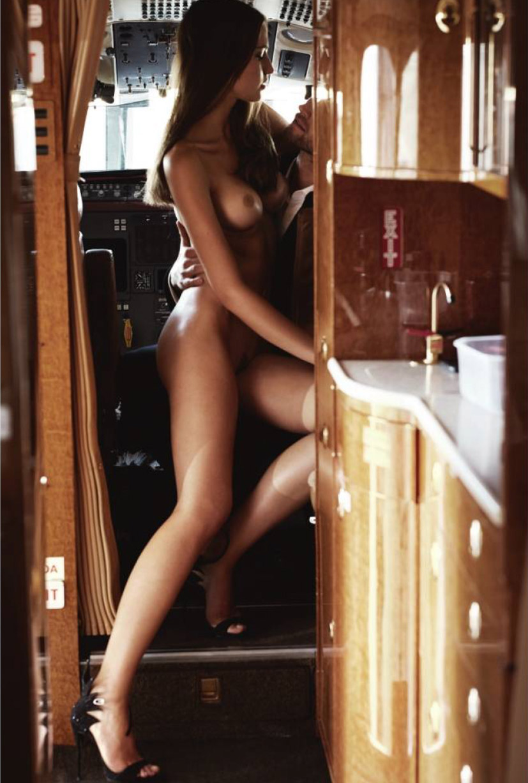 Jet Lag - Jan Trojan & Fernanda Liz nude by John Balsom - Lui Magazine october 2015