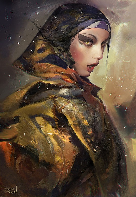 Inspiring Digital Art by Ross Tran