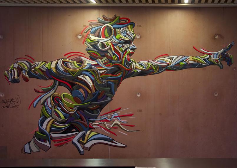 Shock Waves: Powerful Urban Paintings by Shaka
