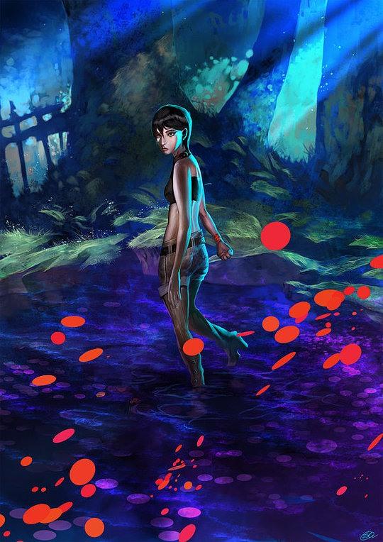 Digital Art by Sida Chen
