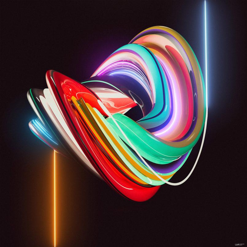 Instafluids: Digital Artworks by Leonardo Betti