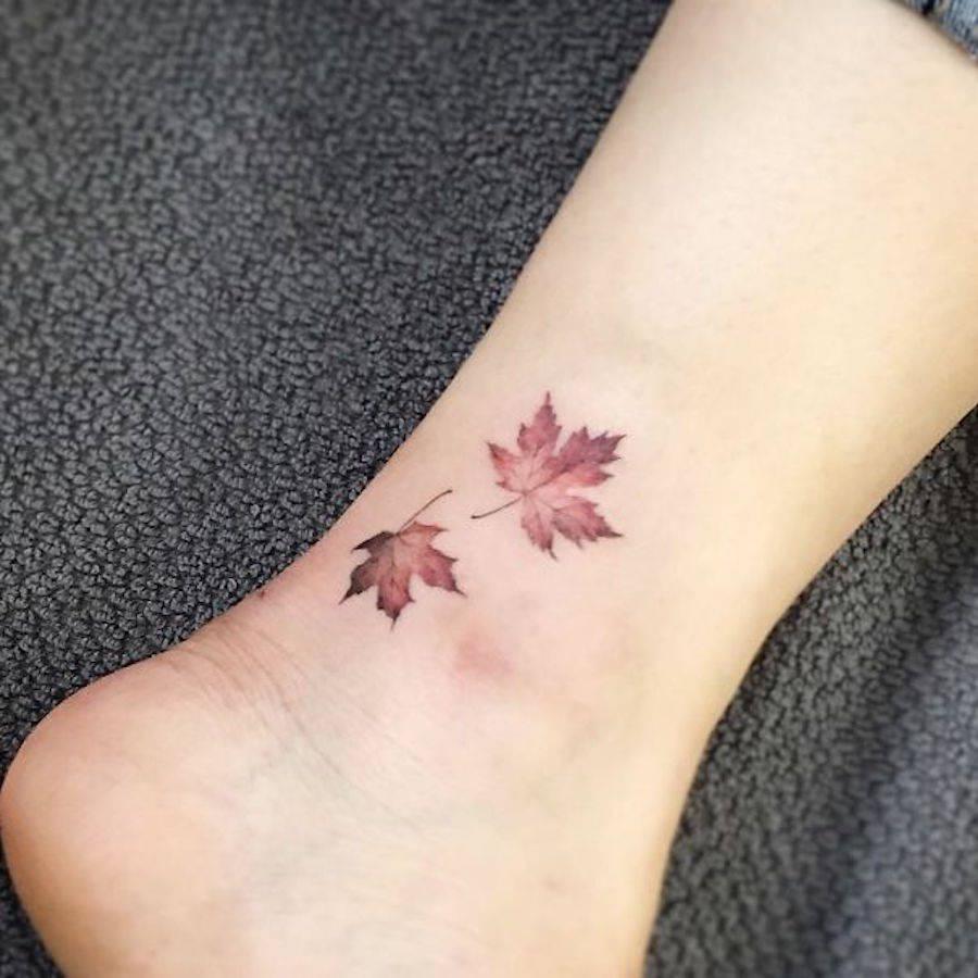 Minimal Foot Tattoos
