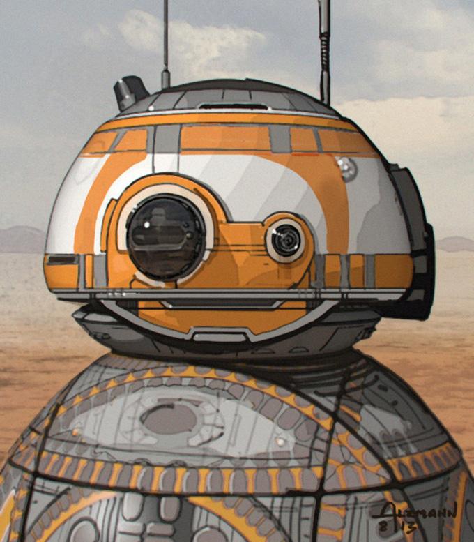 Star Wars: The Force Awakens Concept Art by Christian Alzmann