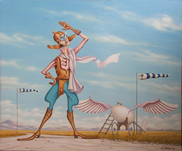 The Incredible Surreal Artworks Of Alexander Lyamkin