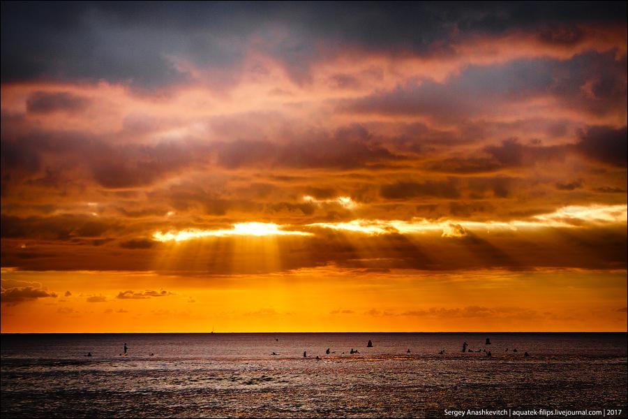 Гавайский закат