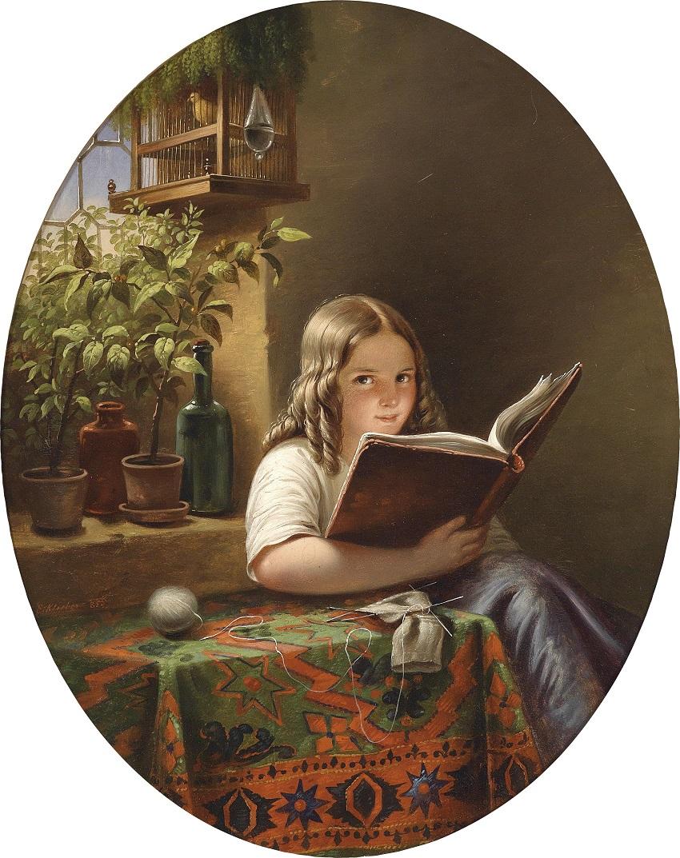 Eduard_Klieber_(Kopie_nach_Meyer_von_Bremen)_Lesendes_Mädchen_1855.jpg