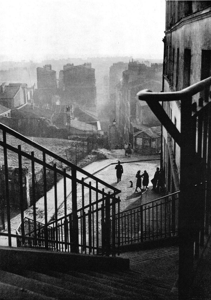 1950. Лестница. Менильмонтан