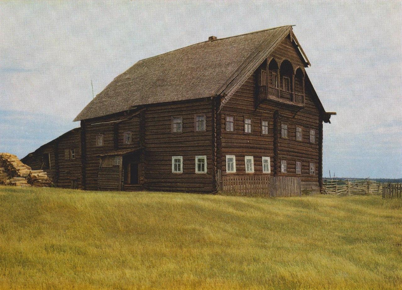 Дом в Южной деревне на Лычном Острове