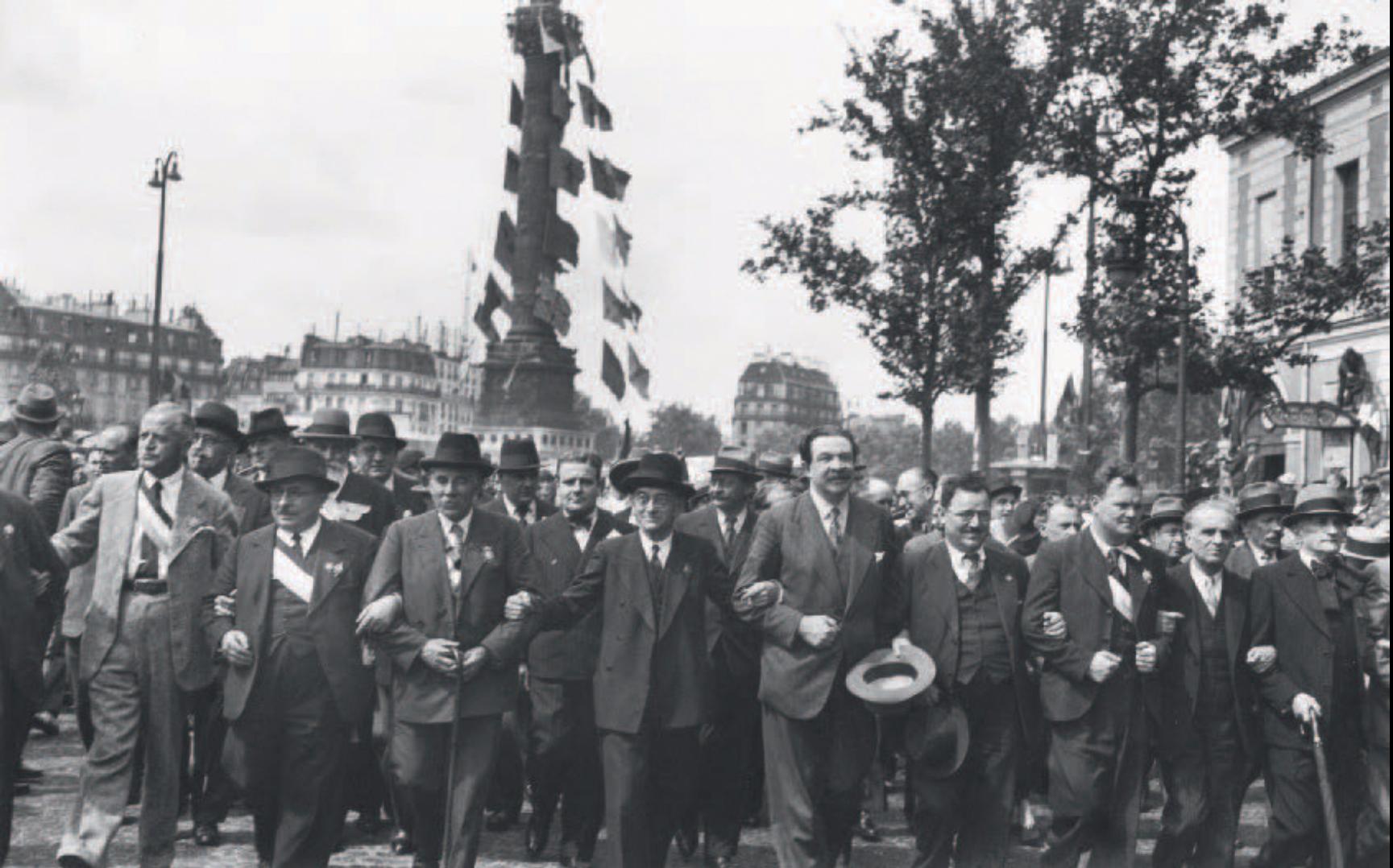 1957. Улица Фобур Сент-Антуан