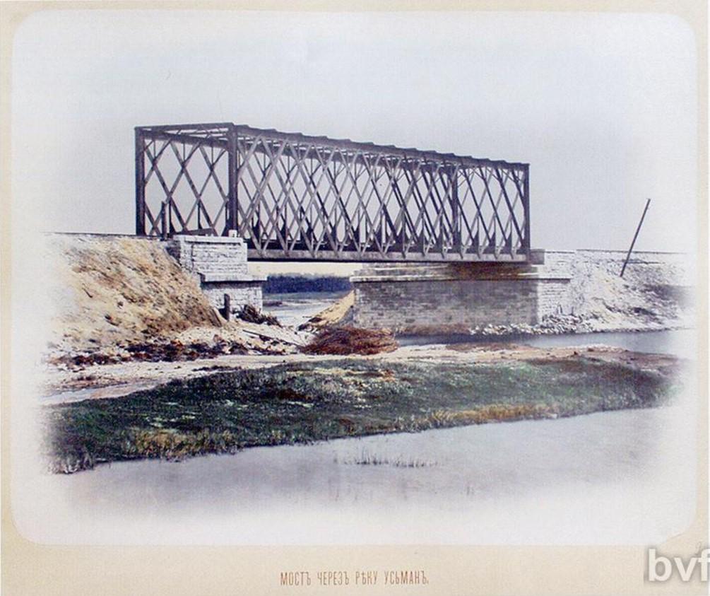 Мост через реку Усмань