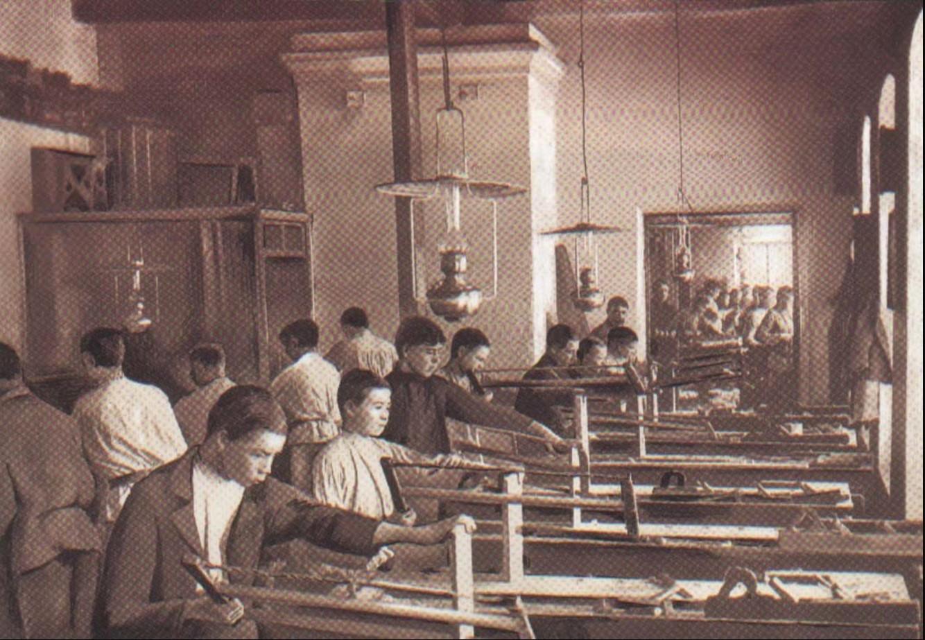 Мастерские Симбирской чувашской школы