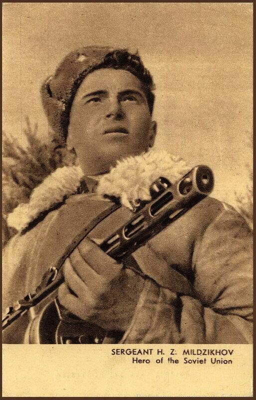 «Красная звезда», 23 декабря 1942 года, Герой Советского Союза Хаджимурза Мильдзихов