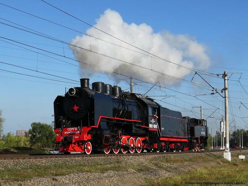паровозы СО17-3241 и 9П-19499 _140