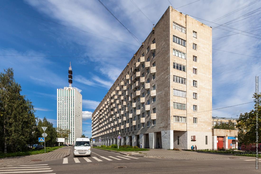 самое высокое здание в Архангельске