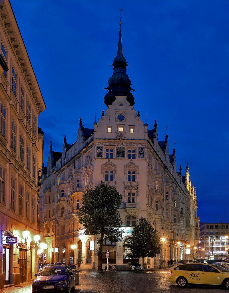 Прага. Отель Париж. (Hotel Paříž Praha)
