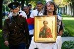 Отец и я с сербами из Косово. Из Крыма. 2014 г..jpg