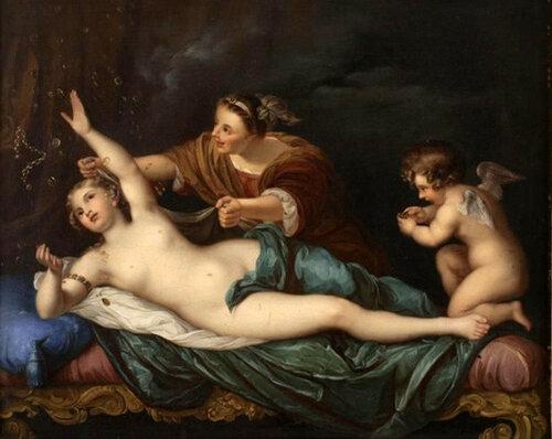 Anton Raphael Mengs The Rape Of Danae