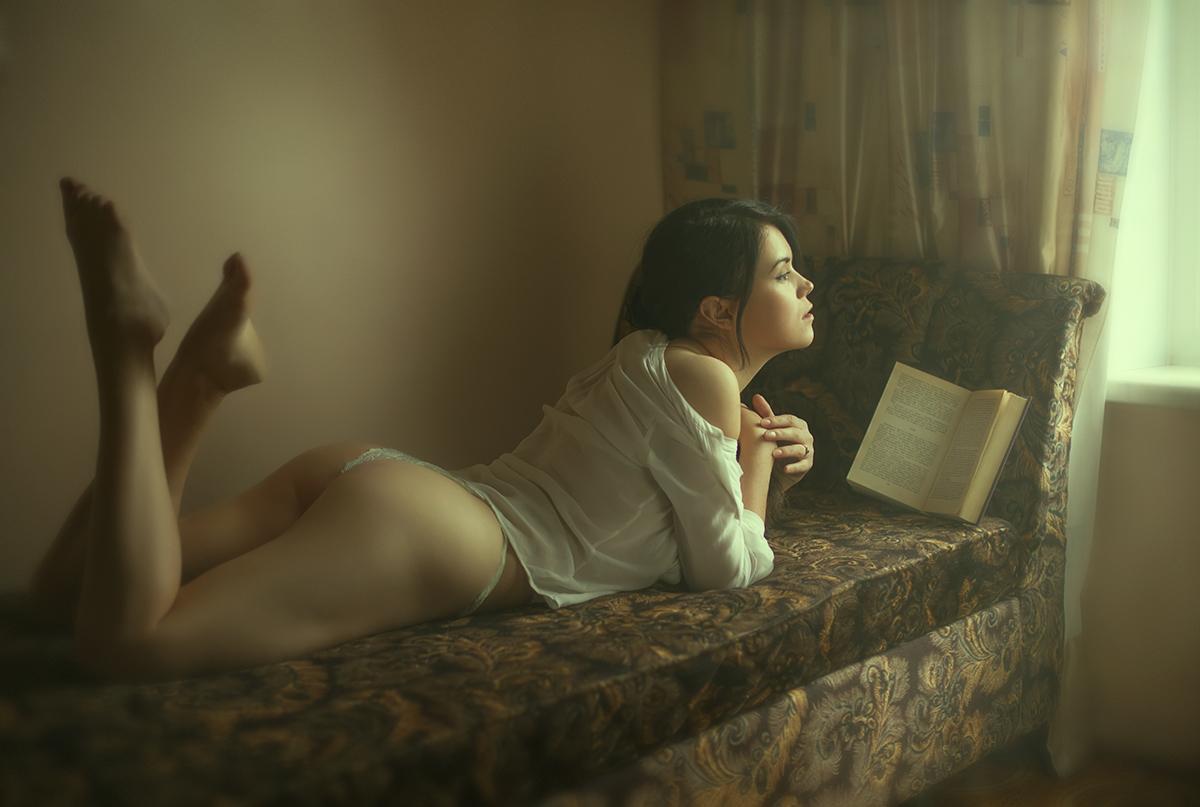 Любительница чтения / фотограф Шаповалов Павел