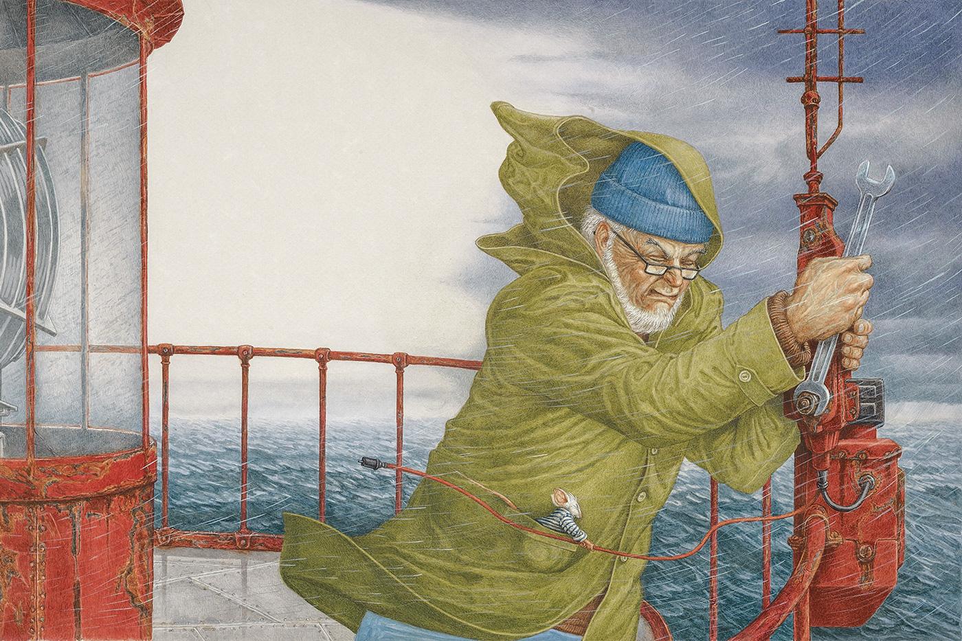 Иллюстрации для Eisbjörn / работа Lev Kaplan