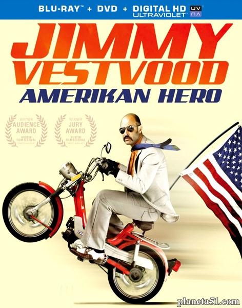 Джимми – покоритель Америки / Jimmy Vestvood: Amerikan Hero (2016/BDRip/HDRip)