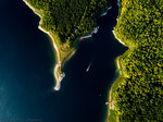 Красноярское море с высоты