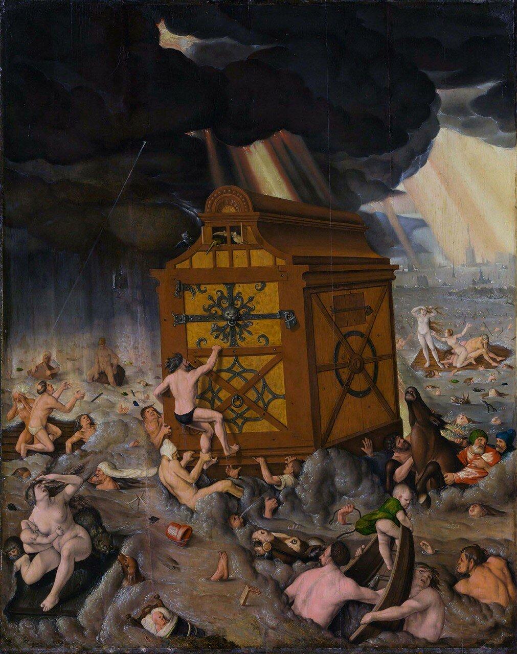 The flood, by Hans Baldung