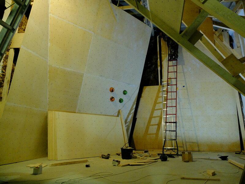 Строительство скалодрома. Часть 2