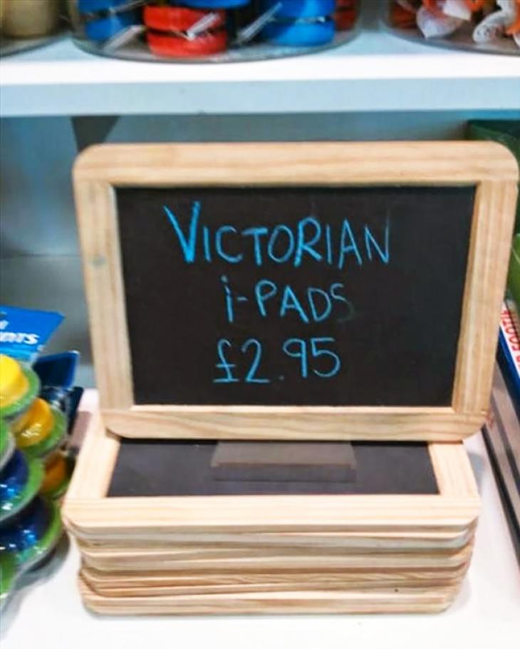 iPad времен королевы Виктории.